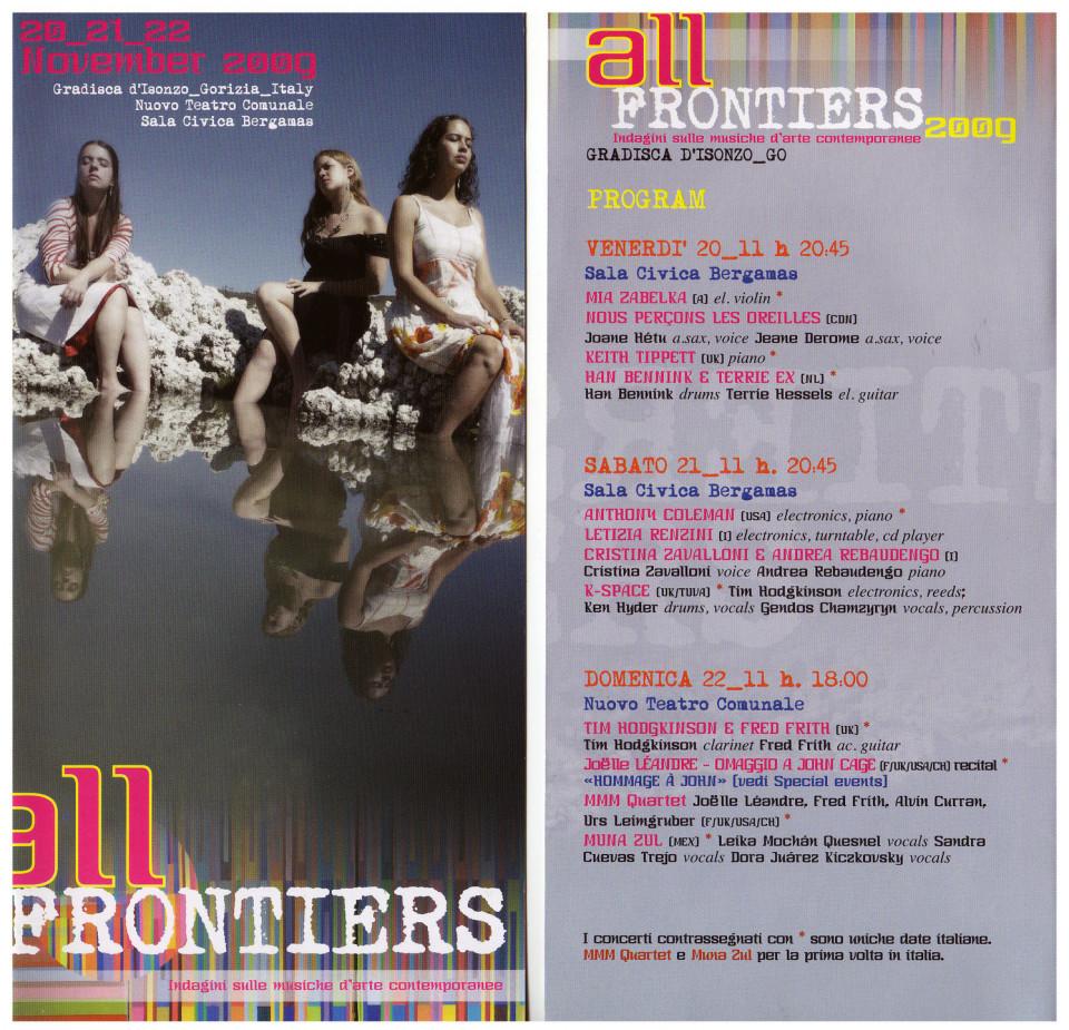 Programme, pages 1-2 [November 20, 2009]
