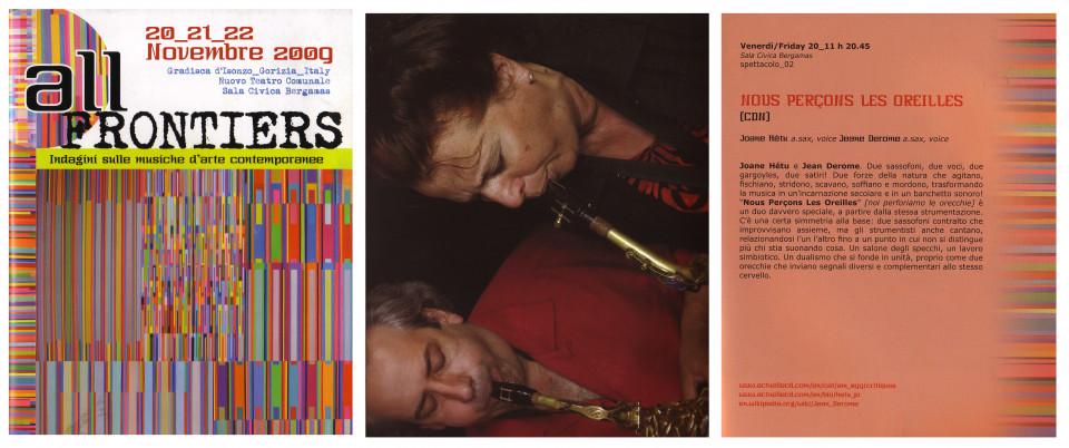 Programme, pages 1-12-13 [November 20, 2009]