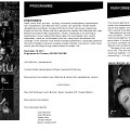 Programme pages 1, 3, 6