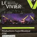 Publicité dans Voir du concert Bruit court-circuit, faisant partie de la Saison Le Vivier [September 2012]