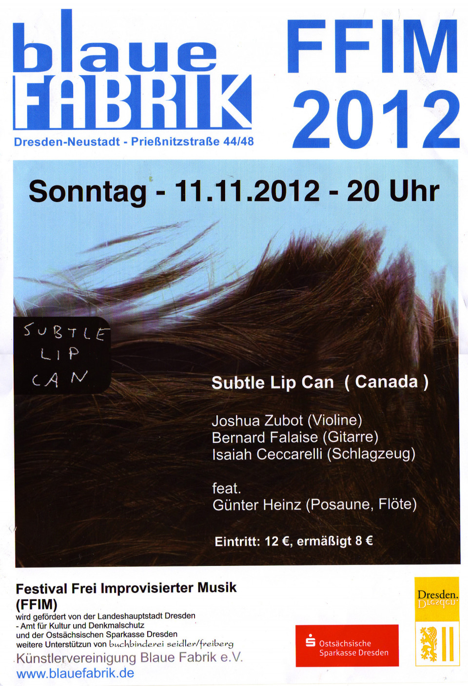 Poster [November 11, 2012]