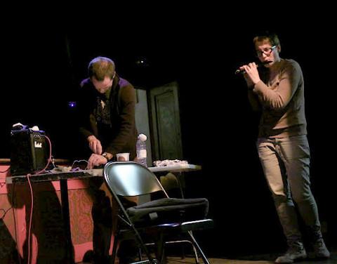Solomiya Moroz, Aitor Izagirre [Photo: Chrissy Cheung , Montréal (Québec), 10 octobre 2011]