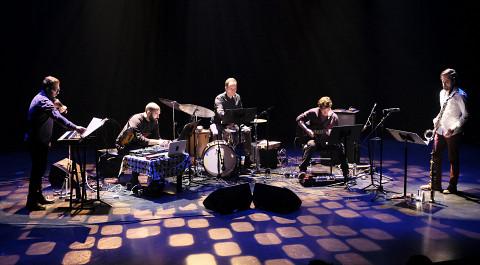 Quartetski in concert at Le Vivier [Photograph: Céline Côté, Montréal (Québec), April 4, 2017]