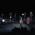 Bozzini Quartet performing the third movement of Le mensonge et l'identité by Jean Derome andJoane Hétu [Photograph: Bruno Massenet, Montréal (Québec), February 21, 2010]
