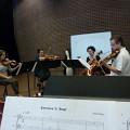 Bozzini Lab Vancouver 2013 — Quatuor Bozzini [Photo: Christine ML Lee, Vancouver (Colombie-Britannique, Canada), 3 juin 2013]