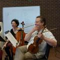 Bozzini Lab Vancouver 2013 — Isabelle Bozzini, Clemens Merkel [Photo: Christine ML Lee, Vancouver (Colombie-Britannique, Canada), 3 juin 2013]