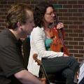 Bozzini Lab Vancouver 2013 — Clemens Merkel, Stéphanie Bozzini [Photo: Christine ML Lee, Vancouver (Colombie-Britannique, Canada), 5 juin 2013]