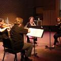 Quatuor Bozzini / Bozzini Lab Vancouver 2013: Concert, Goldcorp Centre for the Arts – SFU, Vancouver (Colombie-Britannique, Canada) [Photo: Christine ML Lee, Vancouver (Colombie-Britannique, Canada), 11 juin 2013]