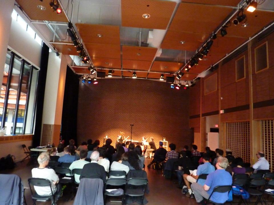 Bozzini Lab Vancouver 2013: Concert, Goldcorp Centre for the Arts – SFU, Vancouver (British Columbia, Canada) [Photograph: Christine ML Lee, Vancouver (British Columbia, Canada), June 11, 2013]