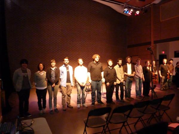 Bozzini Lab Vancouver 2013: Concert, Goldcorp Centre for the Arts – SFU, Vancouver (Colombie-Britannique, Canada) [Vancouver (Colombie-Britannique, Canada), 11 juin 2013]