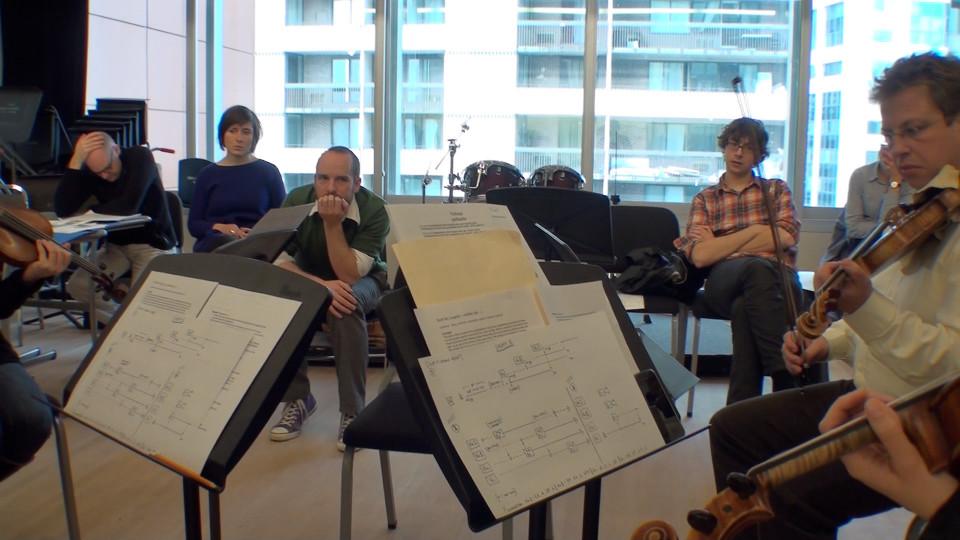 Composer's Kitchen 2012 [Photograph: Caroline de la Motte, April 2012]