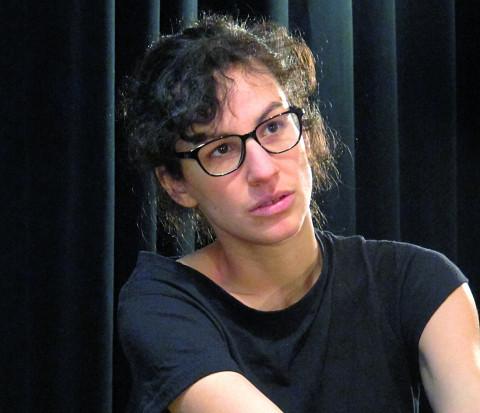 Corinne René [Photograph: Céline Côté, Montréal (Québec), February 28, 2012]