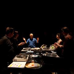 David Lafrance, Magali Babin, Martin Tétreault, Nancy Tobin, Alexander MacSween [Photo: Caroline Campeau, Montréal (Québec), 24 octobre 2012]