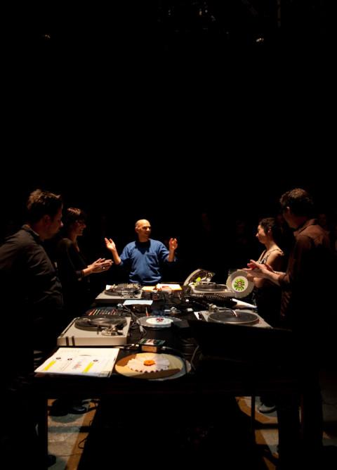 David Lafrance, Magali Babin, Martin Tétreault, Nancy Tobin, Alexander MacSween [Photo: Caroline Campeau, Montréal (Québec), October 24, 2012]