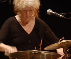 Danielle Palardy Roger au Festival des musiques de création (FMC) [Photograph: Alain Dumas, Jonquière (Québec), May 19, 2006]