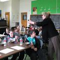 Danielle Palardy Roger dirigeant une classe [Photograph: Céline Côté]