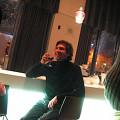 Sébastien Roux, Café du Monument-National [Photo: Luc Beauchemin, Montréal (Québec), 11 décembre 2008]