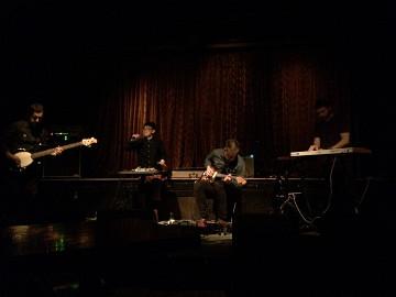 Siamois Synthesis, Sylvain Gagné, Maya Kuroki, Simon Trottier, Maxime Corbeil-Perron [Photo: Ira Lacdao, Montréal (Québec), 25 février 2020]