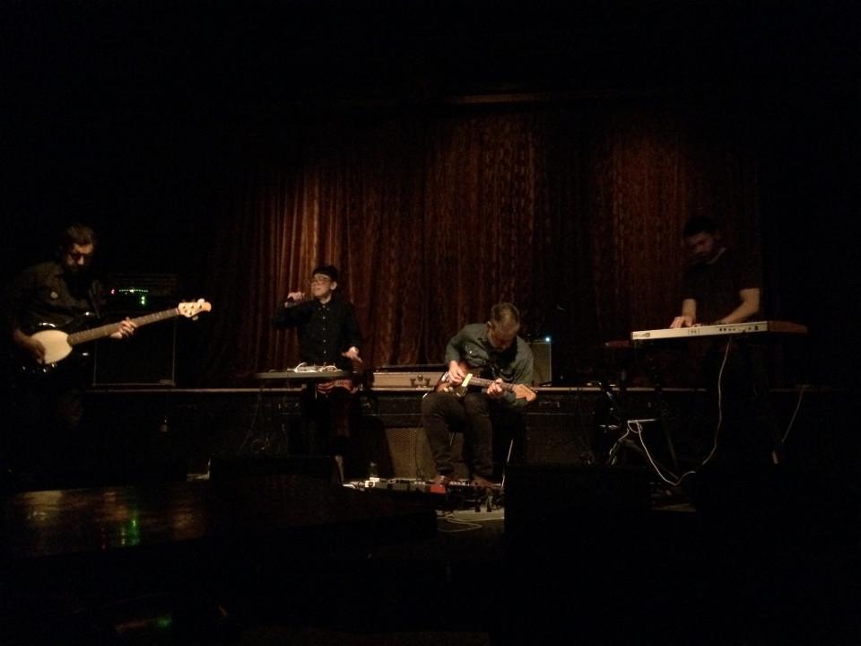 Siamois Synthesis, Sylvain Gagné, Maya Kuroki, Simon Trottier, Maxime Corbeil-Perron [Photo: Ira Lacdao, Montréal (Québec), February 25, 2020]