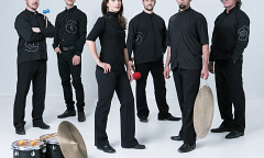 Sixtrum, Philip Hornsey, Kristie Ibrahim, Fabrice Marandola, João Catalão, Julien Grégoire [Photo: Hugo B Lefort, Montréal (Québec), juin 2019]