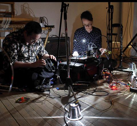 Sound of the Mountain, Craig Pedersen, Elizabeth Millar [Photo: Robert Szkolnicki, Winnipeg (Manitoba, Canada), 19 avril 2018]