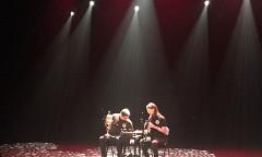 Sound of the Mountain / Also pictured: Craig Pedersen, Elizabeth Millar / Journées de la culture 2019; Journées découvertes: Atelier + concert + discussion, Amphithéâtre – Le Gesù, Montréal (Québec) [Photo: Joane Hétu, Montréal (Québec), September 28, 2019]