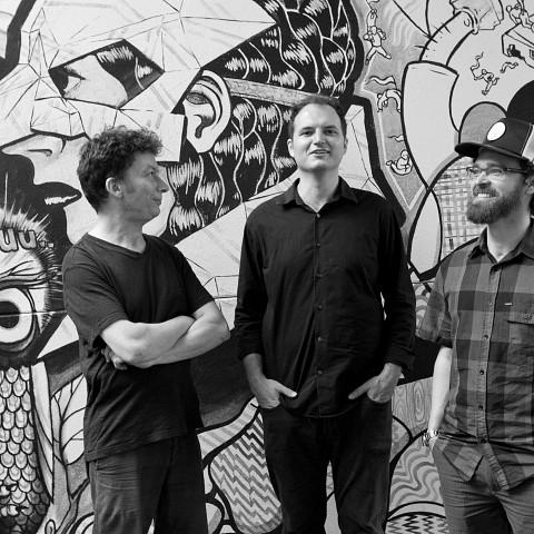Subtle Lip Can, from left to right: Bernard Falaise; Isaiah Ceccarelli; Joshua Zubot [Photograph: Chrissy Cheung, Montréal (Québec), June 1, 2012]