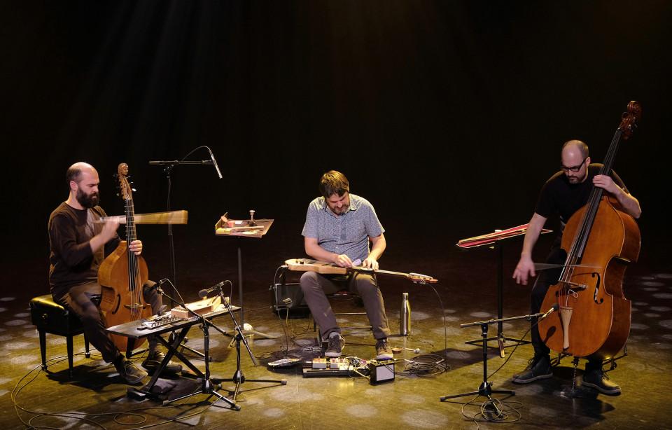 Le groupe theRNST en concert au Le Vivier [Photo: Céline Côté, Montréal (Québec), 7 avril 2019]