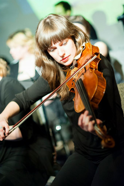 Jennifer Thiessen [Photograph: Aaron Siverston, 2012]