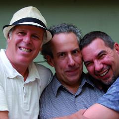 Pierre Tanguay; Jean Derome; Normand Guilbeault [Photo: Louise Labrosse, Montréal (Québec), septembre 2012]