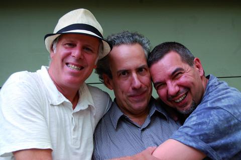 Pierre Tanguay; Jean Derome; Normand Guilbeault [Photograph: Louise Labrosse, Montréal (Québec), September 2012]