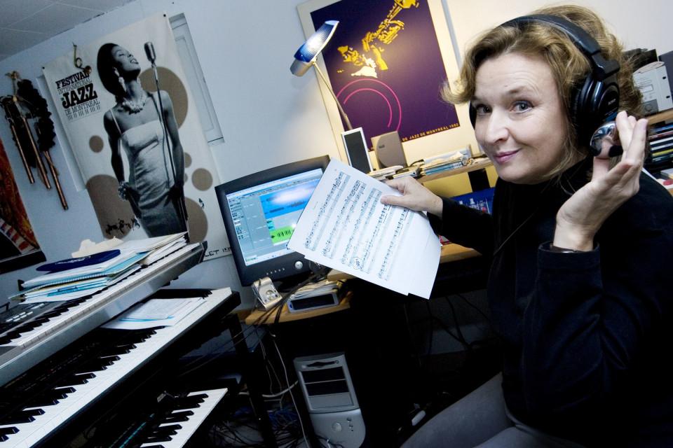 Roxanne Turcotte [Photograph: Martine Doyon, Montréal (Québec), November 25, 2008]