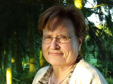Annette Vande Gorne [Photo: Chantale Laplante, Ohain (Belgium), May 2009]