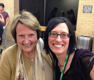Annette Vande Gorne, Elainie Lillios [Denton (Texas, USA), October 1, 2015]