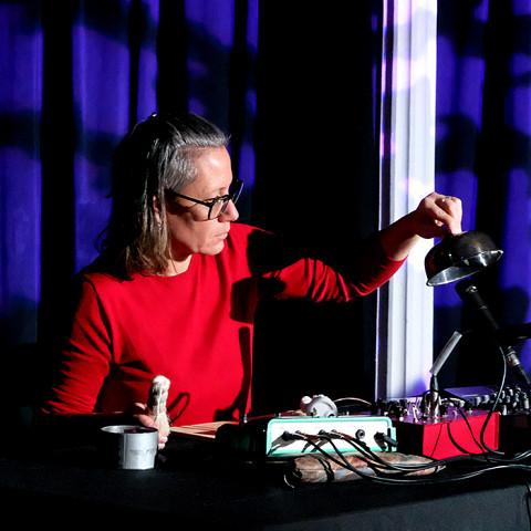 Magali Babin [Photograph: Céline Côté, Montréal (Québec), January 20, 2021]