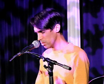 Gabriel Dharmoo [Photo: Céline Côté, Montréal (Québec), January 20, 2021]
