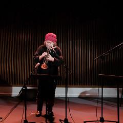 Ida Toninato, Géraldine Eguiluz, Scott Thomson [Photograph: Céline Côté, Montréal (Québec), January 20, 2021]