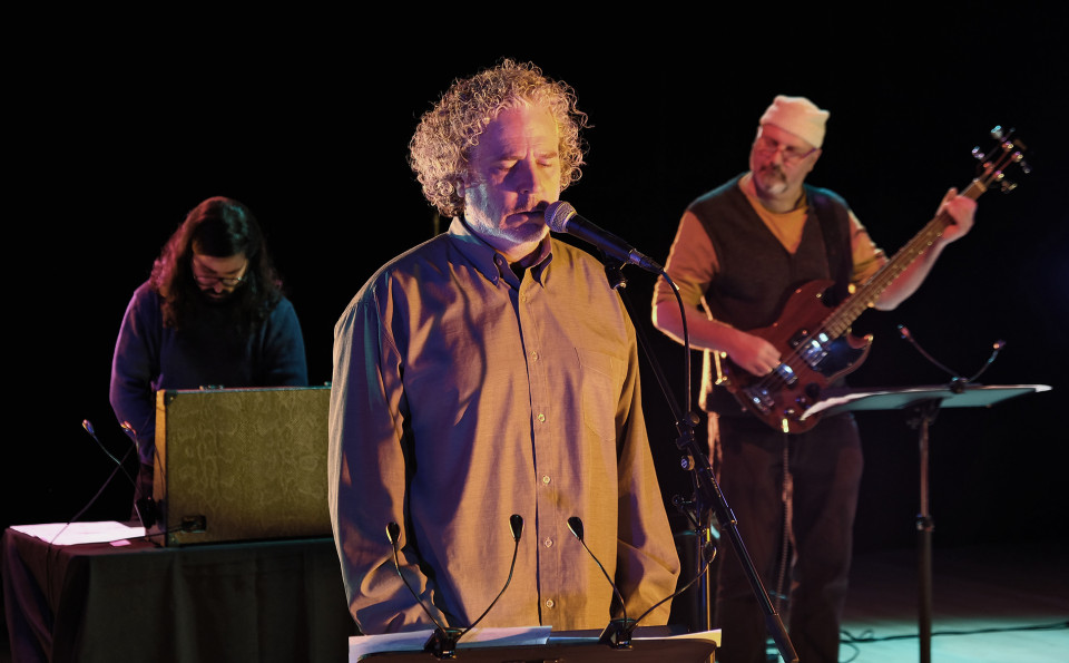 Daniel Áñez, David Cronkite, Nicolas Caloia [Photo: Céline Côté, Montréal (Québec), 8 février 2021]