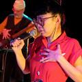 Nicolas Caloia, Maya Kuroki / Vidéos Émeraude: 6: Terri Hron revisite Justine (1990) [Photo: Céline Côté, Montréal (Québec), 8 février 2021]