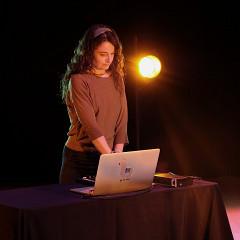 Terri Hron [Photo: Céline Côté, Montréal (Québec), 8 février 2021]