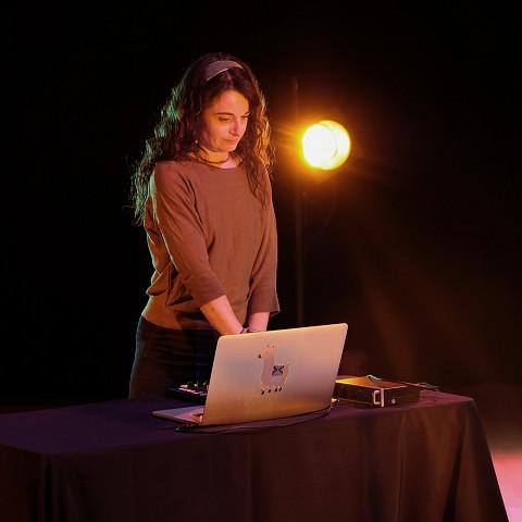 Terri Hron [Photograph: Céline Côté, Montréal (Québec), February 8, 2021]