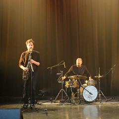 Susanna Hood, Philippe Lauzier, Pierre-Yves Martel, Bernard Falaise / 7: Pierre-Yves Martel revisite Les Poules (2002) [Photo: Céline Côté, Montréal (Québec), 21 avril 2021]