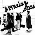 Affiche de la série de concerts Vue aérienne de Wondeur Brass (Diane Labrosse, Joane Hétu, Judith Gruber-Stitzer, Gin Bergeron, Danielle Palardy Roger, Claude Hamel, Martine Leclercq) [Image: Suzanne Girard, mai 1982]