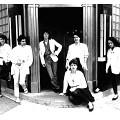 Wondeur Brass (3e formation): Danielle Palardy Roger, Gin Bergeron, Diane Labrosse, Martine Leclercq, Joane Hétu, Judith Gruber-Stitzer [Photograph: Suzanne Girard, June 1983]