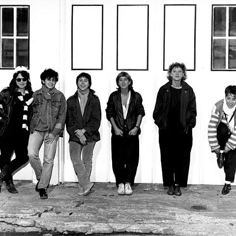 Wondeur Brass: Judith Gruber-Stitzer, Gin Bergeron, Hélène Bédard, Diane Labrosse, Danielle Palardy Roger et Joane Hétu [Photograph: Suzanne Girard, 1985]