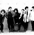 Wondeur Brass: Danielle Palardy Roger, Diane Labrosse, Judith Gruber-Stitzer, Joane Hétu, Gin Bergeron et Hélène Bédard [Photo: Suzanne Girard, 1985]