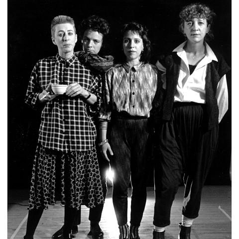 Wondeur Brass (Diane Labrosse, Marie Trudeau, Joane Hétu, Danielle Palardy Roger) [Photograph: Suzanne Girard, 1987]