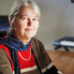 Marie-Jeanne Wyckmans [Photo: Annette Vande Gorne, Ohain (Belgique), 12 mars 2021]