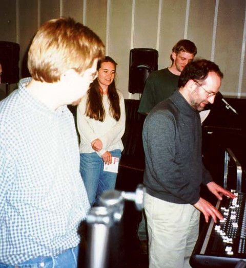 John Young in residency at University of Missouri-Kansas City [Kansas City (Missouri, USA), April 2001]