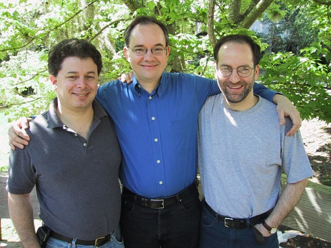Stephen David Beck, Karlheinz Essl et John Young lors du 10e Florida Electroacoustic Music Festival [Gainesville (Floride, ÉU), mars 2001]